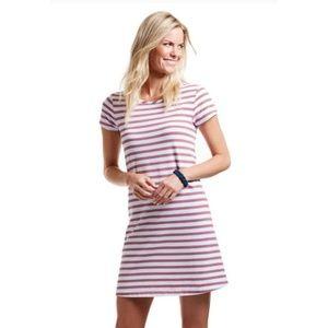 Vineyard Vines Striped Swing T-Shirt Dress Medium